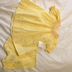 Other - Smocked dress by Remmember Nguyen. Size 9 mo.